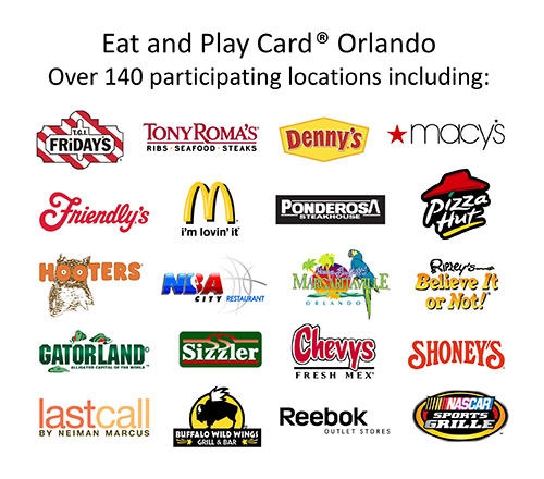Eat and Play Particapating Logos