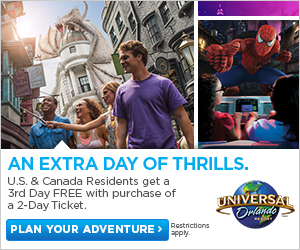 Universal Studios Extra day of Thrills
