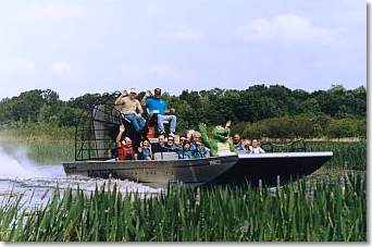 Boggy Creek Airboat Ride Tickets