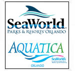 Sea World + Aquatica (1 day each)