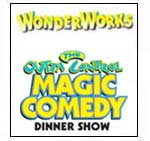 Wonder Works, Dinner and Laser Tag Combo