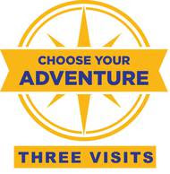 SeaWorld Parks: Choose Your Adventure – Three Visits