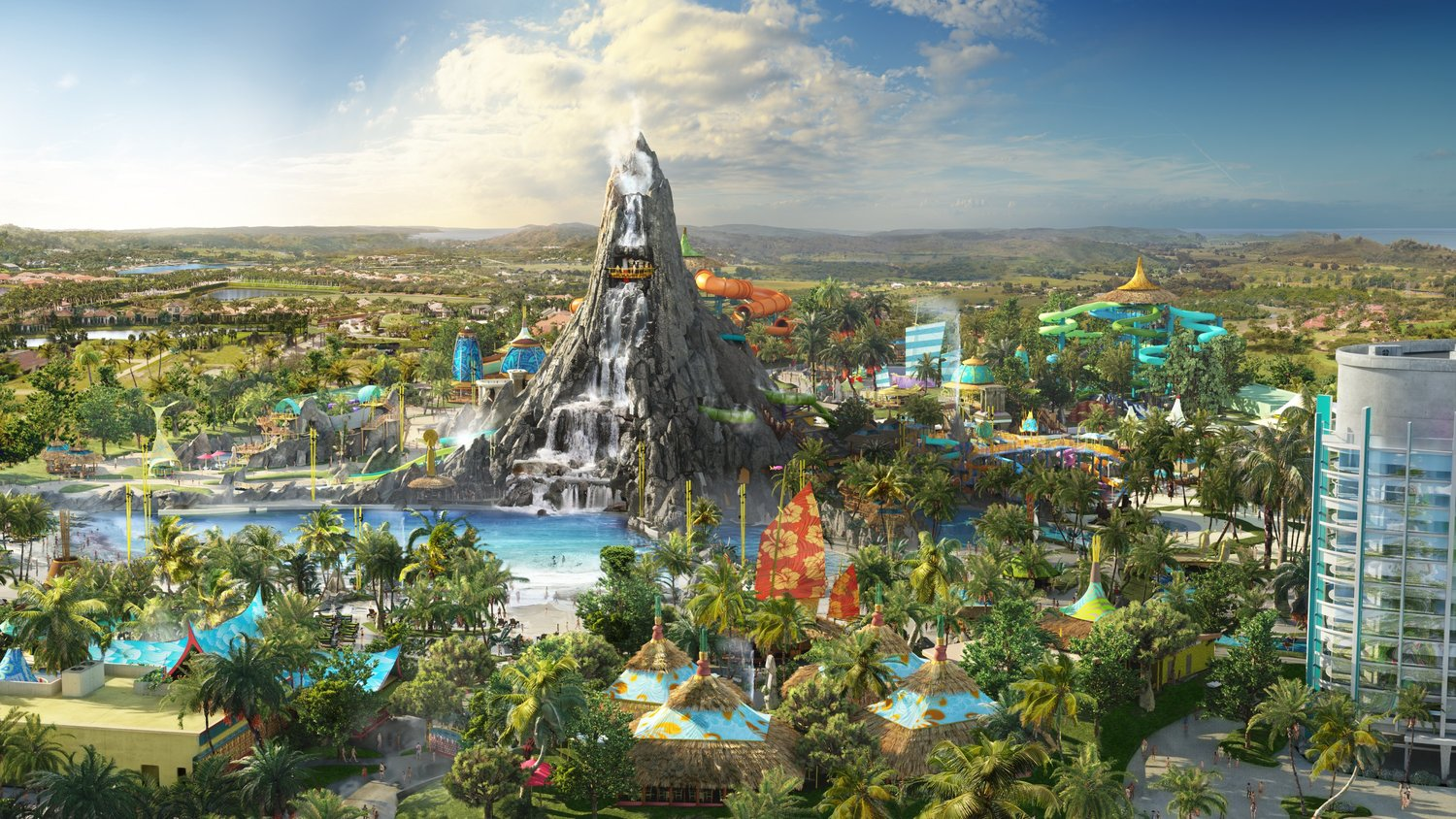 Volcano Bay Park Overview